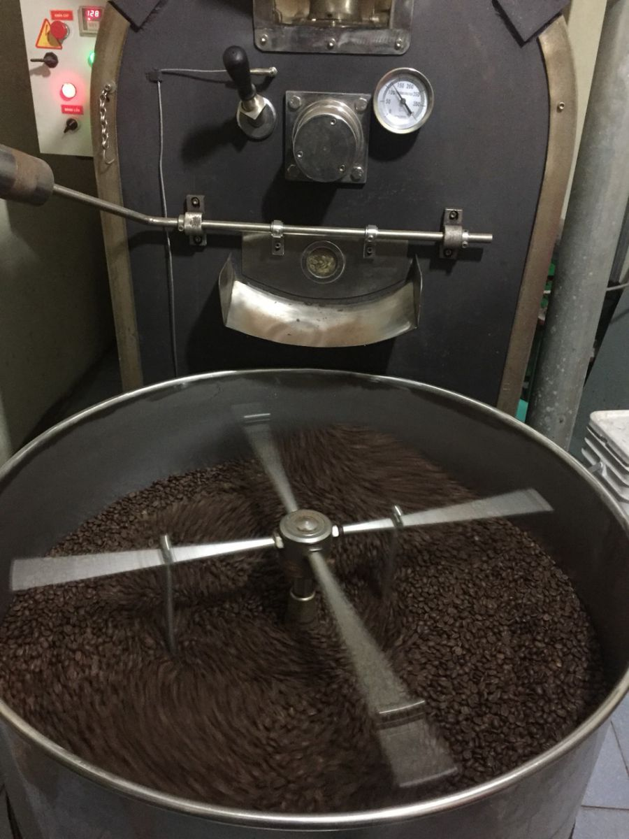 cà phê rang xay nguyên chất gò vấp