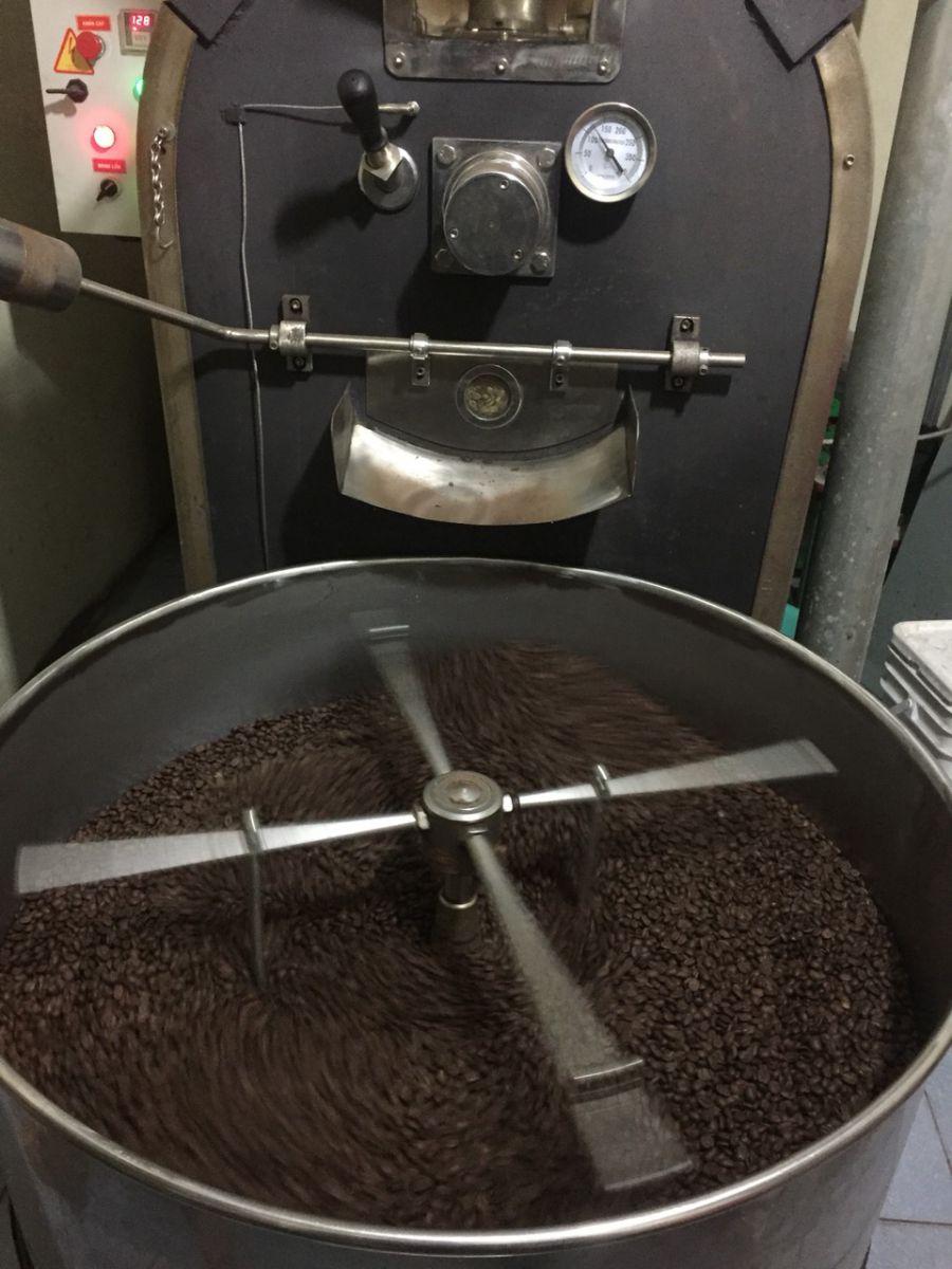 cà phê rang xay nguyên chất bình dương