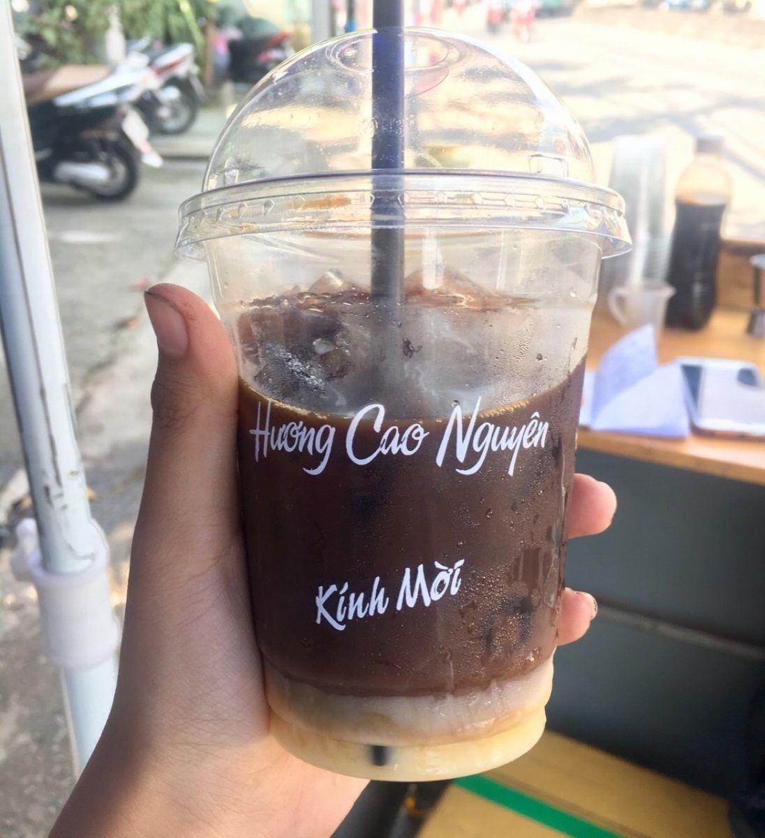cà phê hương cao nguyên